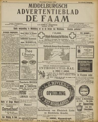 de Faam en de Faam/de Vlissinger 1913