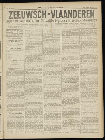 Luctor et Emergo. Antirevolutionair nieuws- en advertentieblad voor Zeeland / Zeeuwsch-Vlaanderen. Orgaan ter verspreiding van de christelijke beginselen in Zeeuwsch-Vlaanderen 1920-03-24