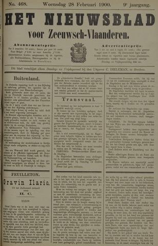 Nieuwsblad voor Zeeuwsch-Vlaanderen 1900-02-28