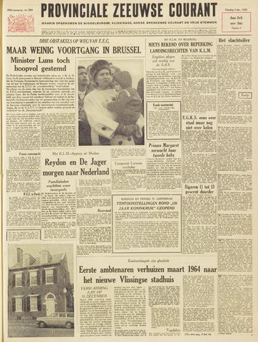 Provinciale Zeeuwse Courant 1963-12-03