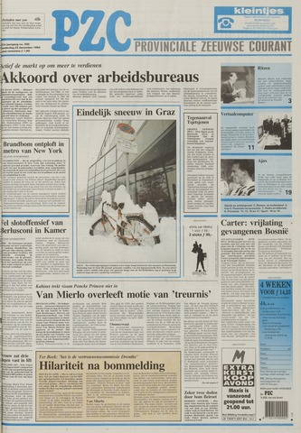 Provinciale Zeeuwse Courant 1994-12-22