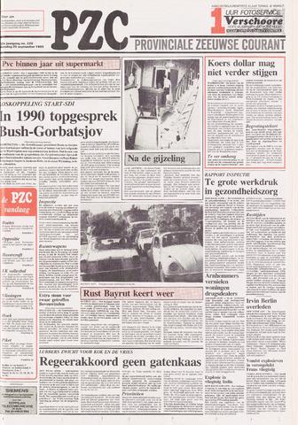 Provinciale Zeeuwse Courant 1989-09-25