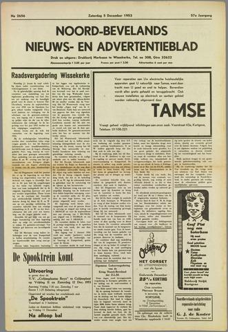 Noord-Bevelands Nieuws- en advertentieblad 1953-12-05