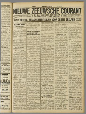 Nieuwe Zeeuwsche Courant 1929-04-13