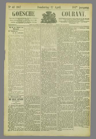 Goessche Courant 1917-04-12