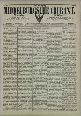 Middelburgsche Courant 1893-02-22