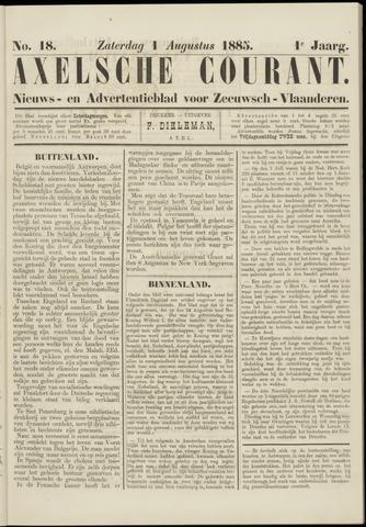 Axelsche Courant 1885-08-01