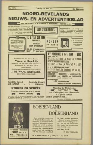 Noord-Bevelands Nieuws- en advertentieblad 1937-05-15
