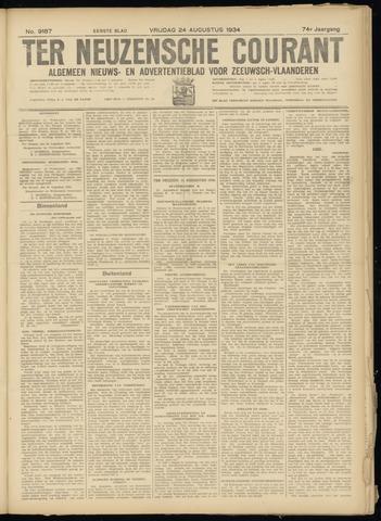 Ter Neuzensche Courant. Algemeen Nieuws- en Advertentieblad voor Zeeuwsch-Vlaanderen / Neuzensche Courant ... (idem) / (Algemeen) nieuws en advertentieblad voor Zeeuwsch-Vlaanderen 1934-08-24