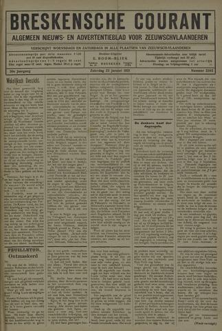Breskensche Courant 1921-01-22