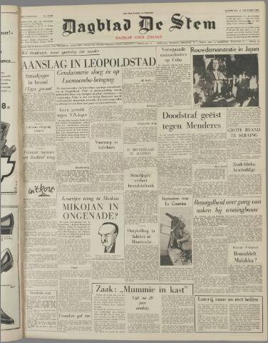 de Stem 1960-10-15