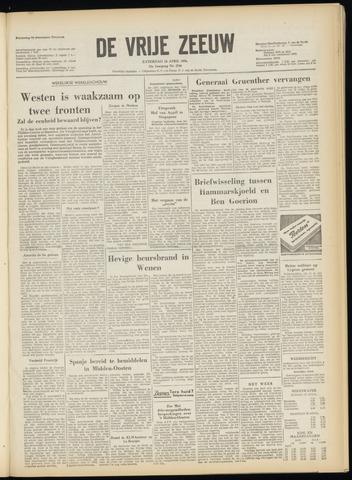 de Vrije Zeeuw 1956-04-14