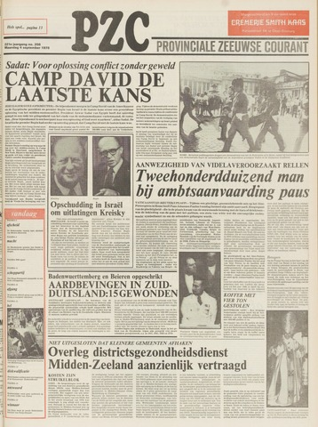 Provinciale Zeeuwse Courant 1978-09-04