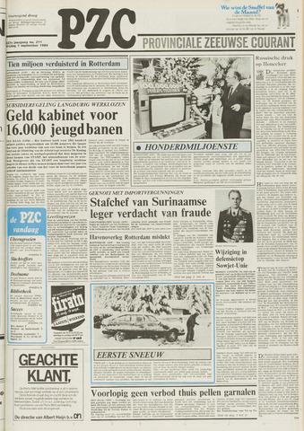 Provinciale Zeeuwse Courant 1984-09-07