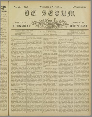 De Zeeuw. Christelijk-historisch nieuwsblad voor Zeeland 1905-11-08