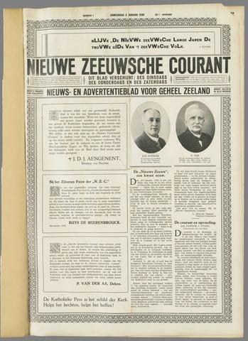 Nieuwe Zeeuwsche Courant 1930-01-02