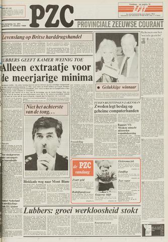Provinciale Zeeuwse Courant 1984-10-11
