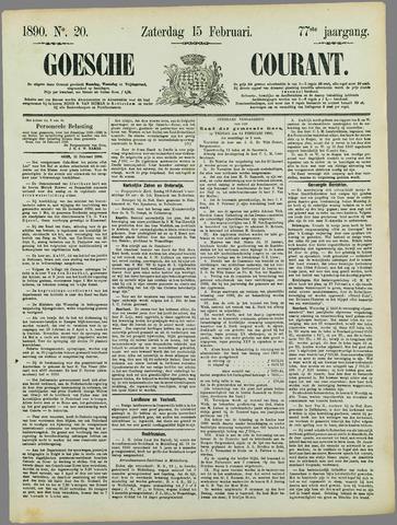 Goessche Courant 1890-02-15
