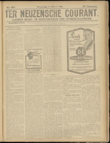 Ter Neuzensche Courant. Algemeen Nieuws- en Advertentieblad voor Zeeuwsch-Vlaanderen / Neuzensche Courant ... (idem) / (Algemeen) nieuws en advertentieblad voor Zeeuwsch-Vlaanderen 1928-03-28