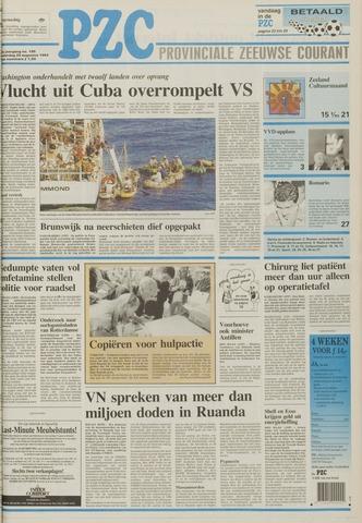 Provinciale Zeeuwse Courant 1994-08-25
