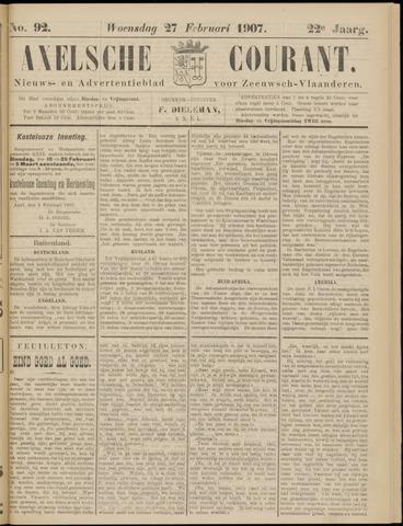 Axelsche Courant 1907-02-27