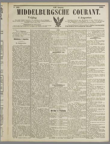 Middelburgsche Courant 1905-08-04