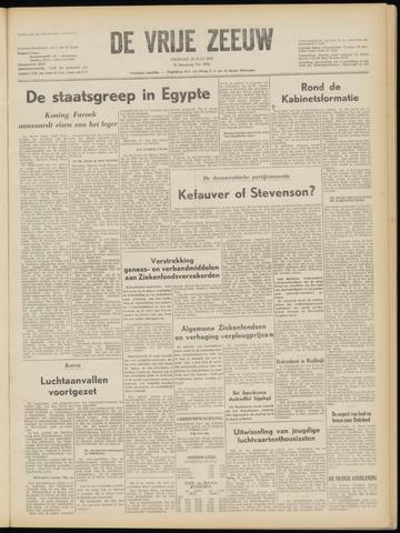 de Vrije Zeeuw 1952-07-25