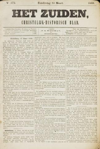 Het Zuiden, Christelijk-historisch blad 1880-03-18