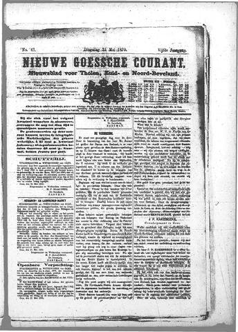 Nieuwe Goessche Courant 1870-05-31