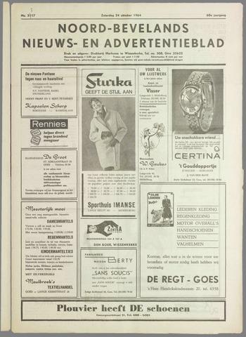 Noord-Bevelands Nieuws- en advertentieblad 1964-10-24