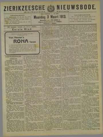 Zierikzeesche Nieuwsbode 1913-03-03