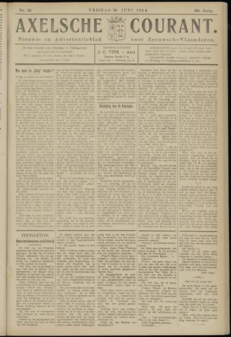 Axelsche Courant 1924-06-20