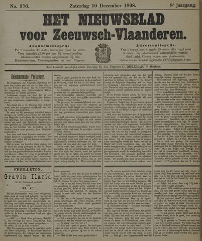 Nieuwsblad voor Zeeuwsch-Vlaanderen 1898-12-10