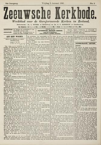 Zeeuwsche kerkbode, weekblad gewijd aan de belangen der gereformeerde kerken/ Zeeuwsch kerkblad 1920-01-09