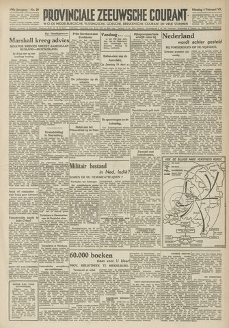 Provinciale Zeeuwse Courant 1947-02-04