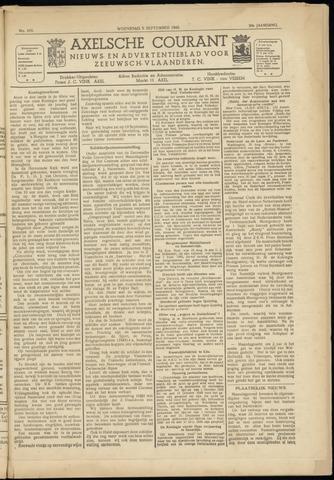 Axelsche Courant 1945-09-05