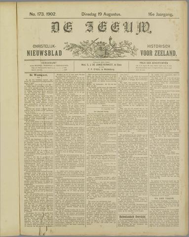 De Zeeuw. Christelijk-historisch nieuwsblad voor Zeeland 1902-08-19