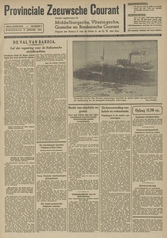 Provinciale Zeeuwse Courant 1941-01-08