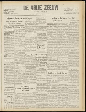de Vrije Zeeuw 1955-02-07