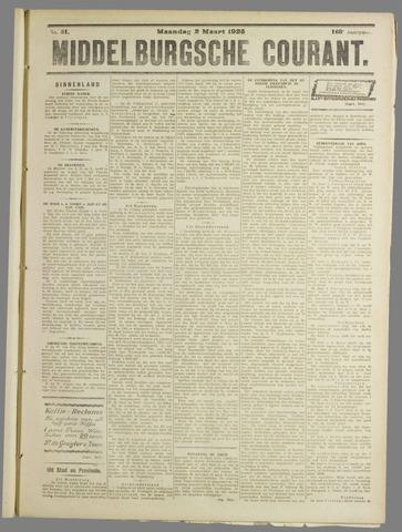 Middelburgsche Courant 1925-03-02
