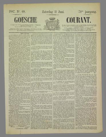 Goessche Courant 1887-06-11