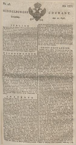 Middelburgsche Courant 1771-04-20