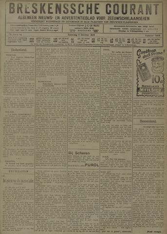 Breskensche Courant 1929-10-05