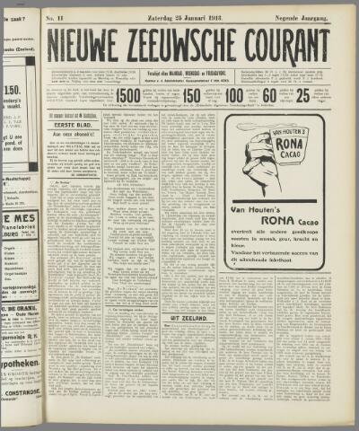 Nieuwe Zeeuwsche Courant 1913-01-25