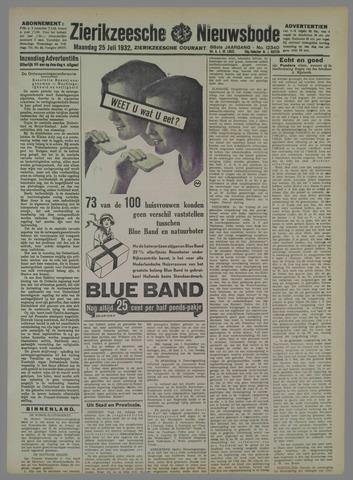 Zierikzeesche Nieuwsbode 1932-07-25