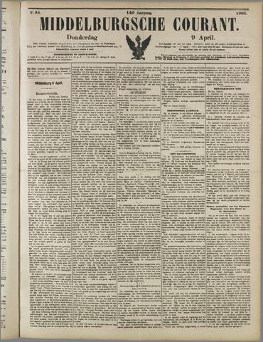 Middelburgsche Courant 1903-04-09