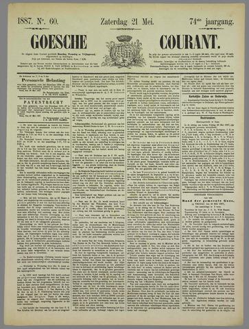 Goessche Courant 1887-05-21