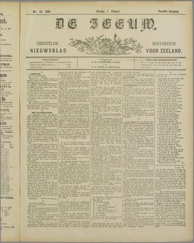 De Zeeuw. Christelijk-historisch nieuwsblad voor Zeeland 1898-02-01