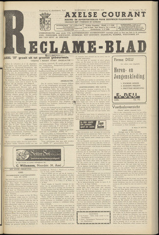 Axelsche Courant 1957-02-27