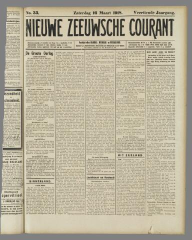 Nieuwe Zeeuwsche Courant 1918-03-16